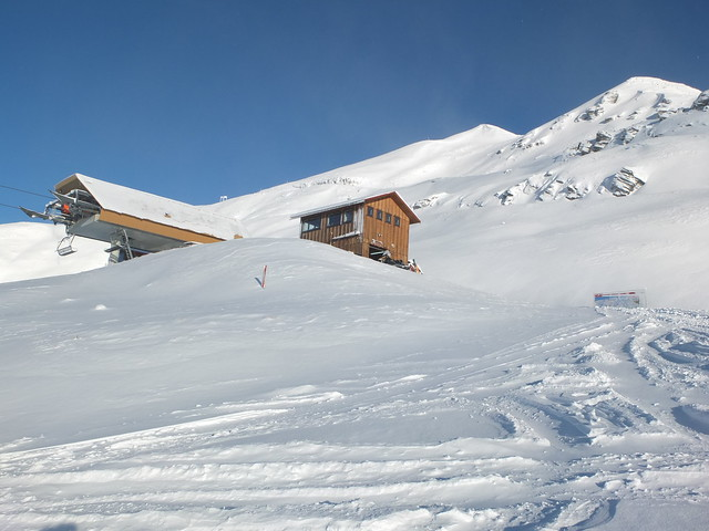 Treble Cone - Home Basin Express 1 July 2014