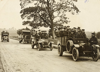R.I.C. and military leaving Limerick