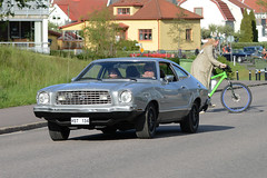 Ford Mustang Mach 1 1975 (hkkbs) Tags: car sweden outdoor 1975 bil vehicle sverige westcoast vstkusten kunglv raggare fordmustangmach1 raggarbilar nikond800 tamronspaf150600mmf563divcusd kunglvscruising