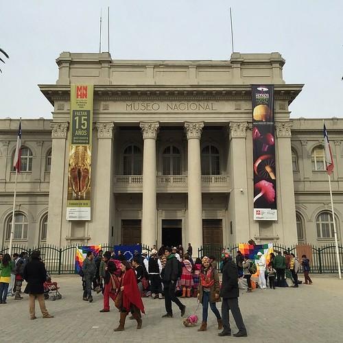Tan lindo el @mnhncl   #QuintaNormal #Santiago #Chile
