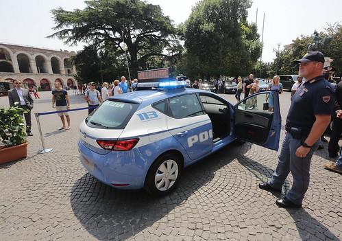 SEAT Leon Italian Police