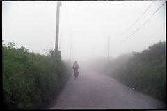 img850 (j thorn explains it all) Tags: road film bike fog 35mm naked lomo lomography bush grain devon hedge analogue woolacombe joshthornton