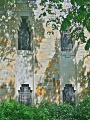 P1000065 (dwgibb) Tags: sculpture flower art church statue architecture oak shrine catholic little michigan mary jesus royal virgin nouveau coughlin crusifix bascilica