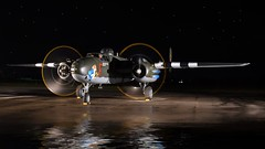 North American B 25 (posterboy2007) Tags: wallpaper night nikon wwii mitchell bomber radial b25 d7200
