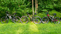 Mountain Bikes - Panasonic LX100 (abysal_guardian) Tags: ex bike trek lumix outdoor mountainbike 9 panasonic mtb frame pro build asta fuel 275 ibex 2015 650b lx100 trekfuelex9 venzo dmclx100