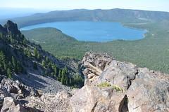 Paulina Peak, Newberry Volcanic National Monument (Geographer Dave) Tags: paulinapeak newberryvolcanicnationalmonument newberryvolcano oregon july2015 paulinalake newberry national volcanic monument volcanoes
