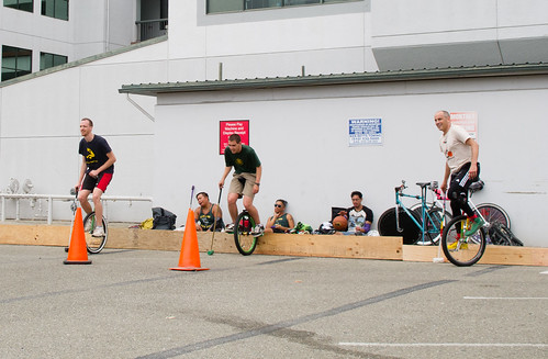 Bike vs. uni polo at Pedalfest