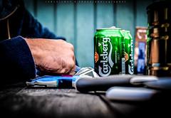 [ r e s c u e . m e ] [ H A N D M A D E   s p e c i a l ] (Mathias Genterczewsky) Tags: detail green beer closeup lens denmark 50mm hands nikon focus dof hand pov finger f14 pointofview bier manual nikkor dslr cph kopenhagen vignette carlsberg københavn øl spiegelreflex visitcopenhagen visitcph iamnikon nikond5200 delditkbh sharecph lostxspace