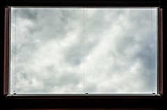 Cloudy (MarkE_T) Tags: viewfrommywindow flickrfriday smcpentaxda18135mmf3556edalifdcwr pentaxk5 velux skylight cloudsmist