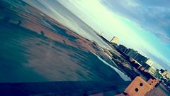 Ebb tide (Andrs Bentancourt) Tags: sea costa uruguay coast mar seaside mare coastal montevideo bajamar riverplate rambla uy riodelaplata ebbtide mareabaja mvd lunaticphotographercom