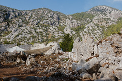 Excavations in Olympos (Cirali, Turkey) (l0pht) Tags: 2016 october olimpos ruins sea turkey anatolia antik bay beach beautiful beauty buildings cliff coastline east edge history journey landscape lycia mediterranean mountain mountains nature outdoors place road rock rocks rocky seascape travel çıralı чирали чиралы