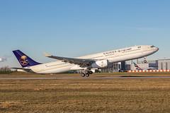 1L2A9481 Saudi Arabian Airlines A330-343 F-WWKD Flickr (Daniel P.346) Tags: saudi arabian hzaq21 msn1766 airbus 330 a330 a333