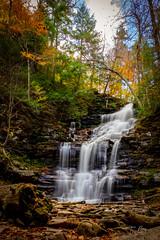 Ricketts Glen State Park - Waterfall (Tbui15) Tags: ricketts glen state park waterfall long exposure autumn herbst usa pennsylvania