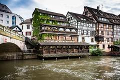 L'Alsace - Strasbourg. (Bouhsina Photography) Tags: medieval eau rivière pont restaurant strasbourg france bouhsina bouhsinaphotogrphy