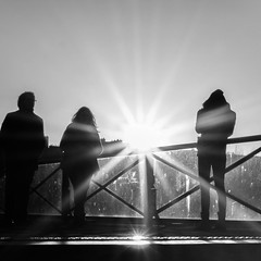 Luminothrapie (Cheese -) Tags: paris pontsdesarts soleil sun