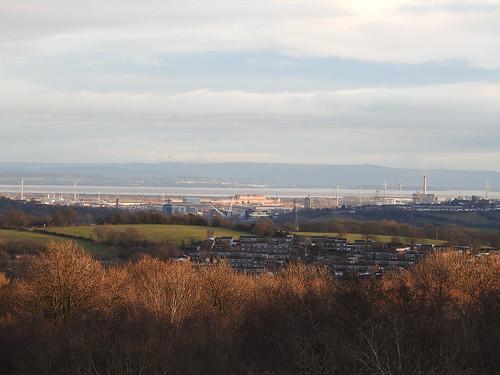 Newport, Bristol Channel & England 15 January 2017