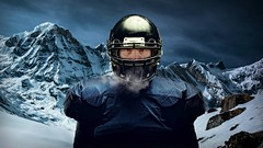 Mountain Football (Studio d'Xavier) Tags: werehere mountainsandmore mountainfootball mountainsports football 365 january222017 22365 blue