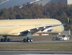 AZUL Linhas Aéreas Brasileiras. FIRST A350 FOR THE COMPANY. (Jacques PANAS) Tags: azul linhas aéreas brasileiras airbus a350941 pr fwzfr msn098