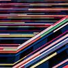 Colourful start (uneitzel) Tags: abstract architecture architektur bsu colour colourful facade farbe farbig fassade hamburg lines linien olympusem5 pattern square streifen stripes wilhelmsburg