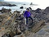 Catherine at Whaler's Cove (ali eminov) Tags: california parks oceans pacificocean pacificcoast whalerscove people women catherine pigeonpoint