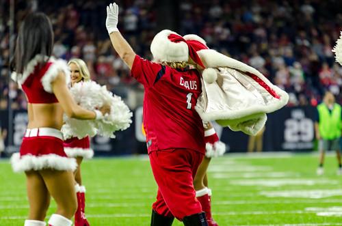 Texans Santa