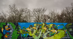 Shine / Quest. (Suggsy69) Tags: nikon d5200 graffiti art shine quest shinequest chelmsford essex donaldduck lee