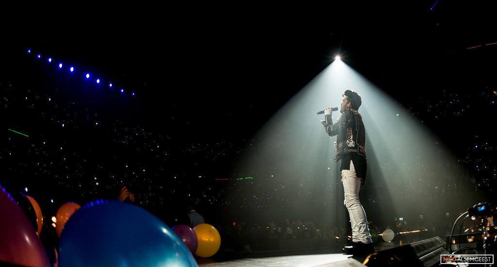 Adam Lambert @ 538live XXL