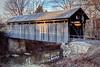 Ringos Mill Covered Bridge (matthewkaz) Tags: ringosmillcoveredbridge coveredbridge bridge ringosmill foxcreek creek water flemingcounty kentucky winter 2016 wreath