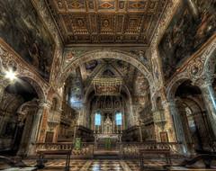 Basilica di San Pietro, Perugia (R.o.b.e.r.t.o.) Tags: basilicadisanpietro perugia pg umbria italia italy saintpeter church chiesa romanico barocco hdr9raw altare presbiterio highdynamicrangeimaging
