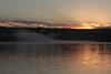 Solar peekaboo (RPahre) Tags: sunrise heartlake yellowstonenationalpark yellowstone wyoming lake reflection
