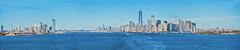 ... leaving New York City ... (wolli s) Tags: ny nyc newyork newyorkcity us usa panorama stitched aida kreuzfahrt see sea cruising