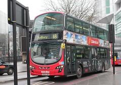 Between the Posts (AndrewHA's) Tags: bus warren street london metroline travel west volvo b9tl wright wrightbus eclipse gemini 2 vw 1865 bf60vhr tfl route 18 euston sudbury advert allover zillertal alps