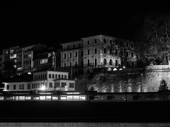 noche (galaico) Tags: olympus omd em5mkii mkii zuiko coruña galicia blancoynegro byn bn españa noche nocturna nocturnas
