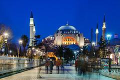 Ayasofya (Zeki Öztürk) Tags: ayasofyacamii ayasofya mavi saat mavisaat istanbul islamicarchitecture hagiasofia hagiasophia zekiöztürk yolcu71