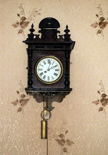 Greatly old clock