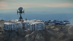 Planet surface 8 (starcitizenhungary) Tags: spaceman ships misc freelancer outpost planet planetside screenshot