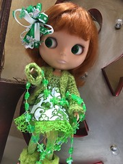 My perfectly decorated St. Patty's girl...