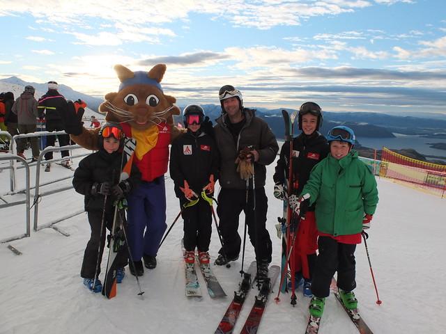 Treble Cone Opening Day 2014 - Family Fun