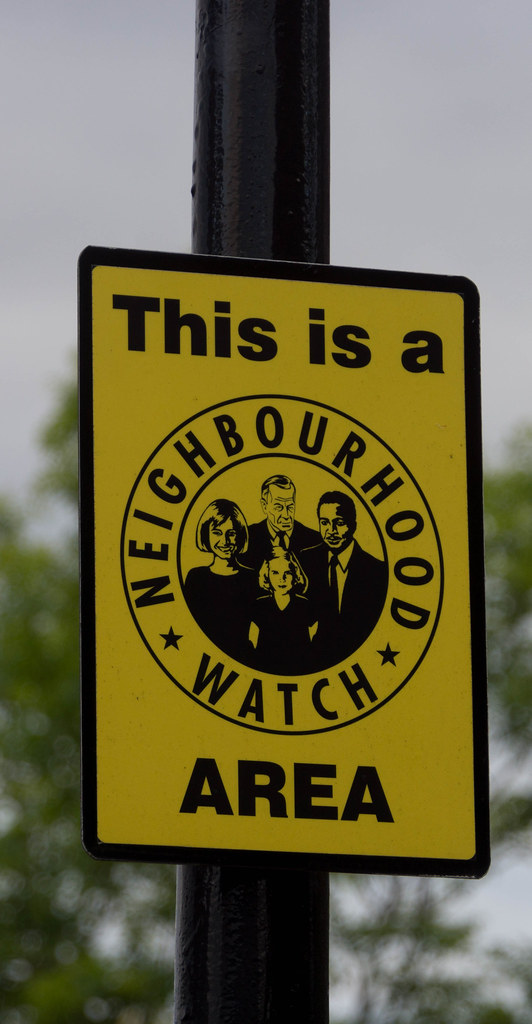 NEIGHBOURHOOD WATCH BELFAST STYLE [LAGANSIDE] REF-104945