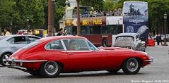 Jaguar E-Type coup (XBXG) Tags: auto old uk paris france classic car vintage de la automobile place voiture concorde british jaguar frankrijk coupe coup ancienne engels brits etype anglaise cx353pe