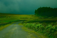 Way to serenity... (clicheforu) Tags: road sky green nature weather way landscape island view country archipelago azores acores clicheforu waytoserenity