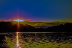 Sonnenaufgang Edersee