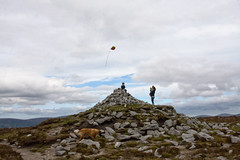 Fly a flag on Sorrell Hill (backpackphotography) Tags: ireland hill hike era archer wicklow sorrel