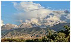 High Clouds, Issyk Kul, Kyrgiz Republic (Andr-DD) Tags: cloud mountain mountains berg clouds scenery view hill wolke wolken hills berge kyrgyzstan landschaft issykkul hgel kirgistan kirgisien kirgisistan yssykkl   kyrgizrepublic