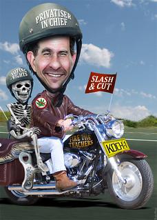 Scott Walker Rides His Koch Rocket, From ImagesAttr