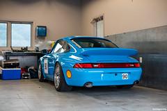 DSC_3335 (hushypushy) Tags: race track euro 911 shell porsche rs vir 993 hoosier rivierablue virginiainternationalraceway carreracup teamdynamics