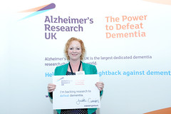 Supporting Alzheimers Research in Parliament