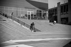 Pepe - flip (Alberto Della Beffa) Tags: family italy skateboarding pigeons spot skate turin