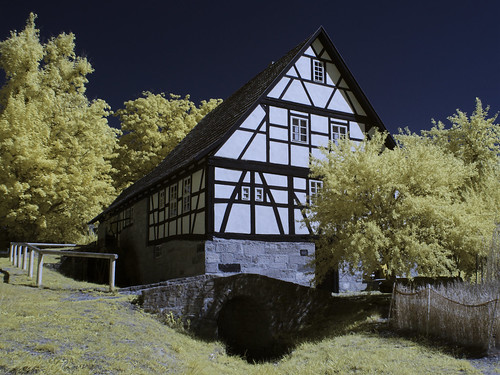 Infrared - Water mill