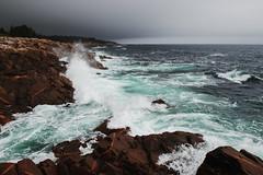 .. (Louis Caya) Tags: ocean sea cloud seascape canada storm nova rock clouds landscape louis landscapes amazing rocks waves novascotia cloudy wave atlantic explore scotia caya explorecanada louiscaya louiscayaphotography